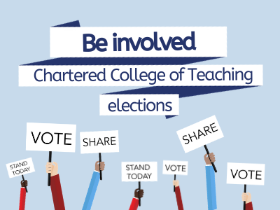 Chartered College of Teaching Elections news image