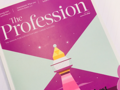 Chartered College of Teaching The Profession 2018 issue news image
