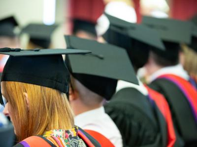 Chartered College of Teaching Chartered Teacher Graduation caps blog image