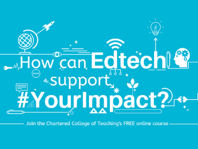 Chartered College of Teaching supporting EdTech Online Course News image
